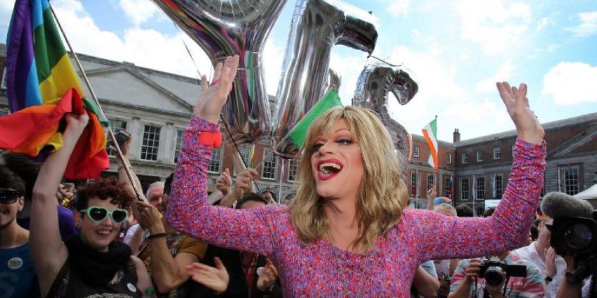 Fotos: Celebración del sí al matrimonio homosexual en Irlanda