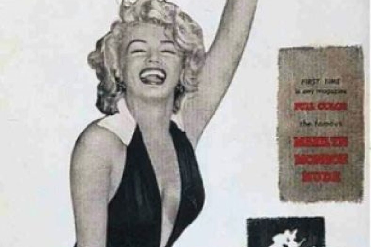 """2.- En 1953 y con Marilyn Monroe en la portada, llegó la famosa revista del conejito, """"Playboy"""", porno disponible para cualquier mayor de edad. Foto:Playboy. Imagen Por:"""