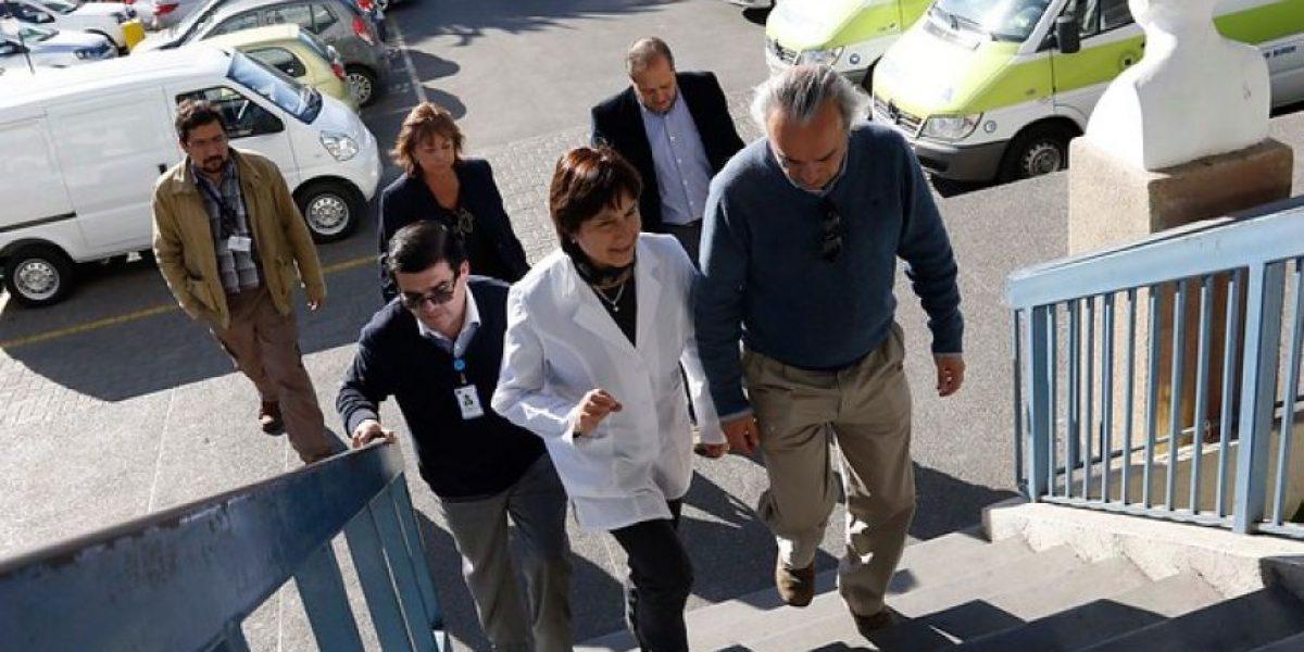 Ministra y estado de Rodrigo Avilés: