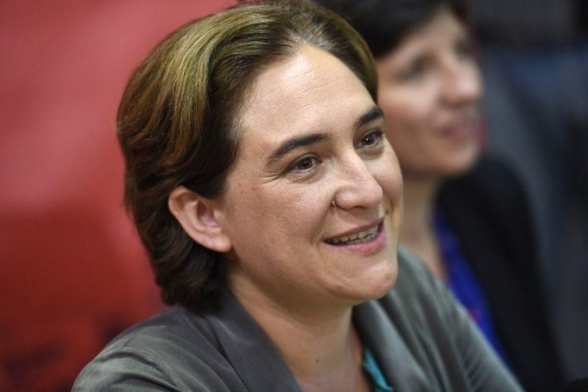 3. Ada Colau, la gran revelación de estas elecciones. Foto:AFP. Imagen Por: