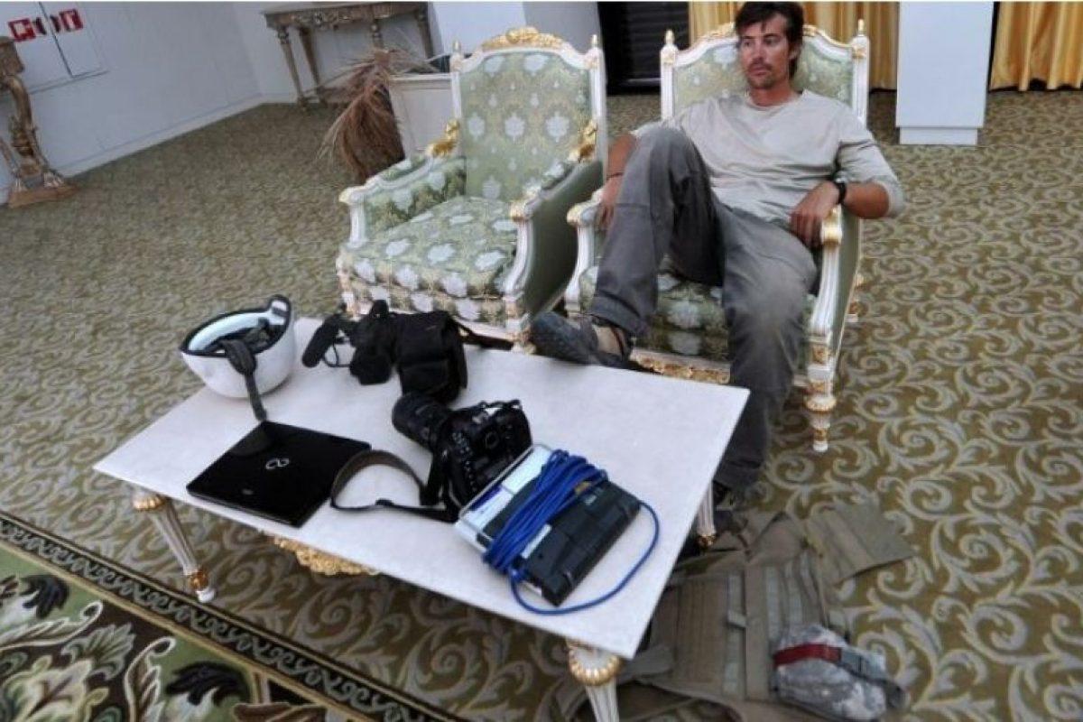 El grupo Estado Islámico difundió un video en el que se muestra la decapitación del periodista estadounidense James Foley, quien había sido capturado en Siria en 2013. Foto:AFP. Imagen Por: