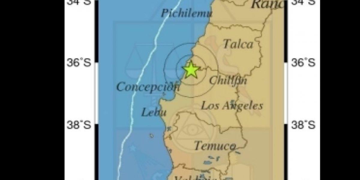 Concepción: sismo de 4º Richter se registró esta mañana