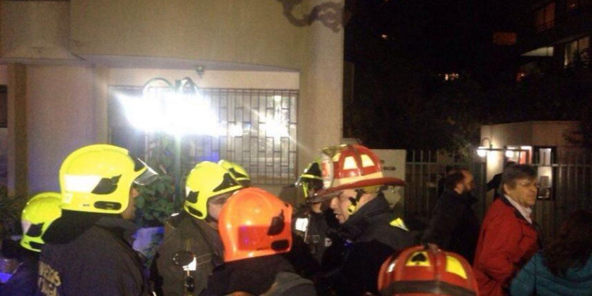 Emanación de gas deja dos heridos y 40 evacuados en Providencia