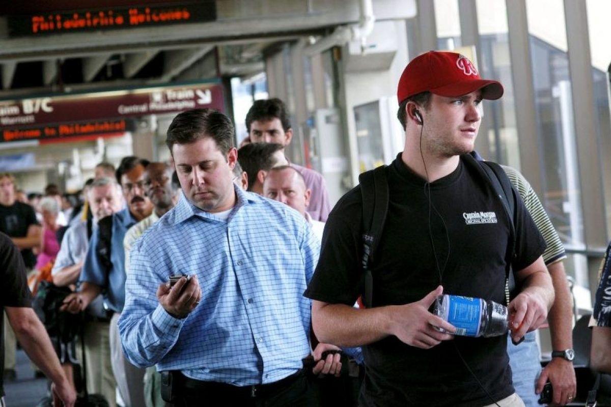 Muchos vuelos se retrasaron. Foto:Getty Images. Imagen Por: