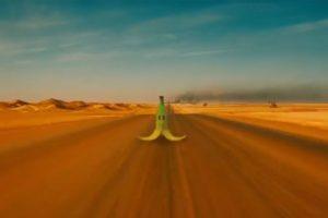 La banana que hace que pierdas el control está en el video Foto:Kris Sundberg/YouTube. Imagen Por: