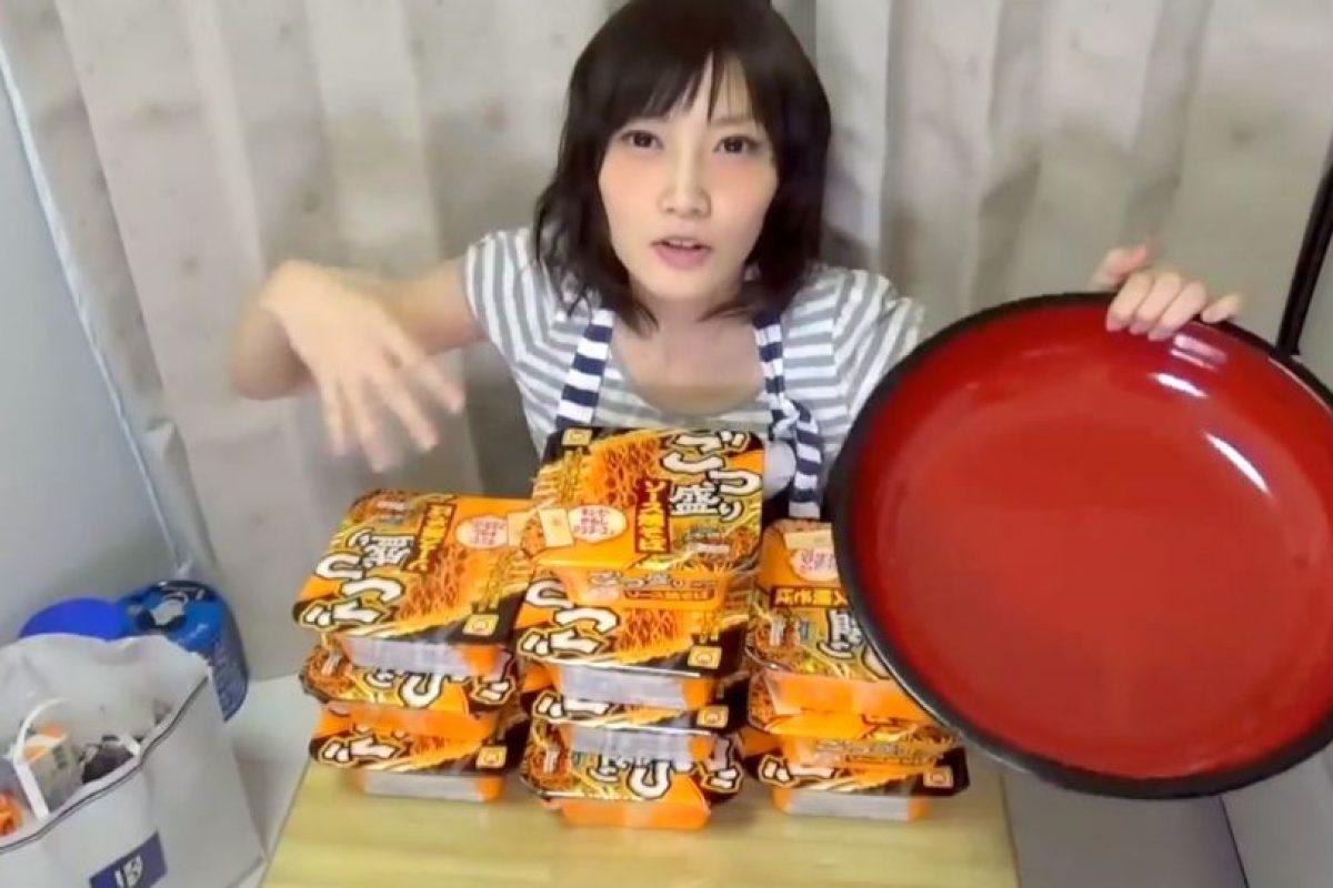 Tiene un talento muy particular. Foto:vía Youtube/Yuka Kinoshita. Imagen Por: