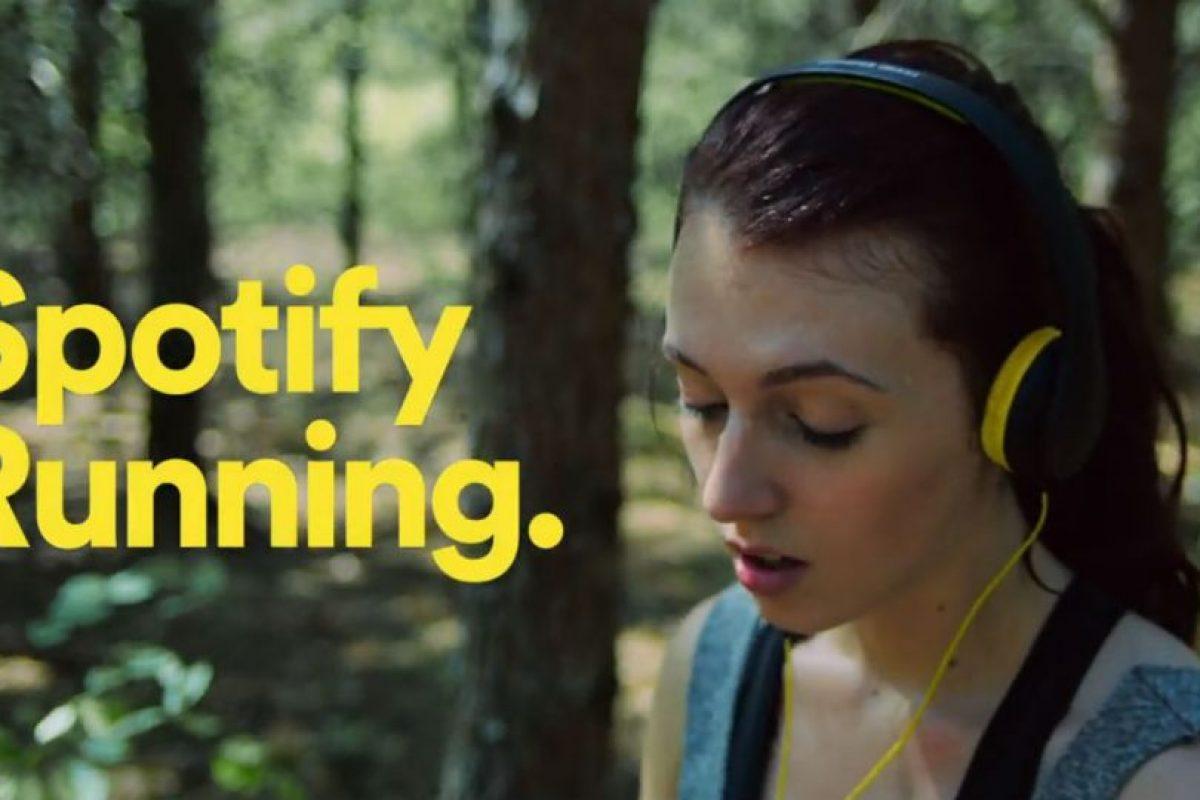 """Según el sitio web """"The Verge"""", la compañía tiene previsto asociarse tanto con Nike como con RunKeeper para integrar su música en streaming a algunas de las aplicaciones de fitness Foto:Spotify. Imagen Por:"""
