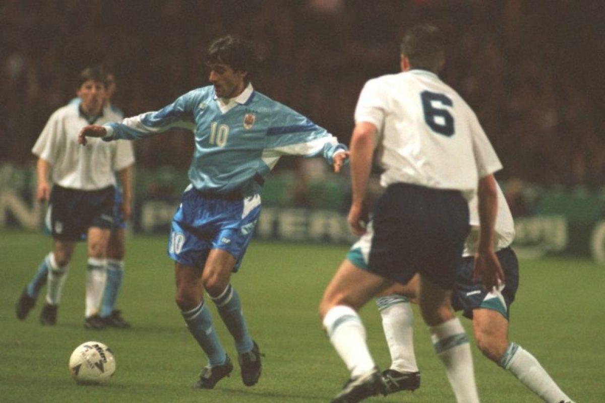 Uruguay se coronó en su casa en 1995 Foto:Getty Images. Imagen Por: