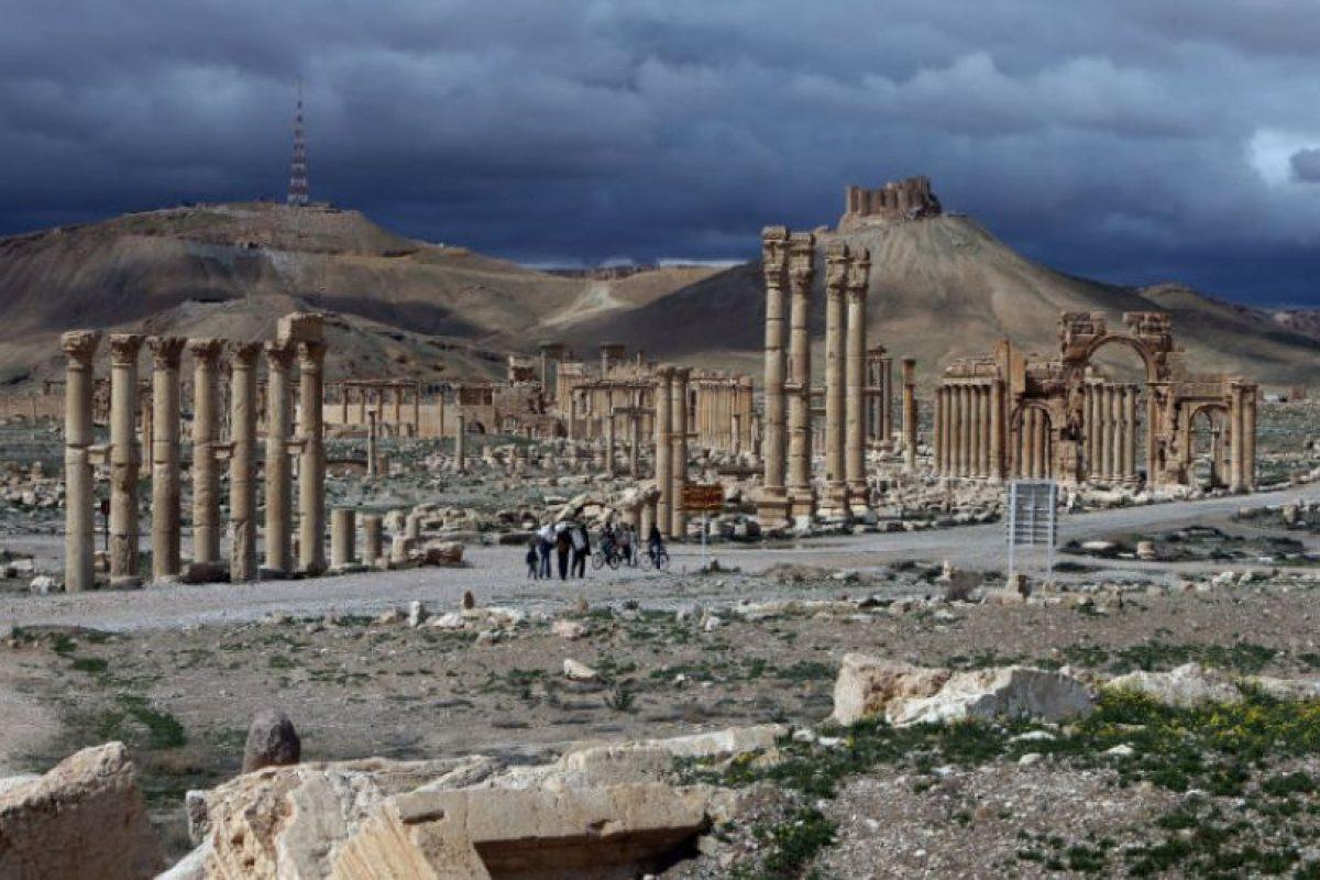 La ciudad de Palmira está localizada a unos 215 kilómetros al noreste de Damasco Foto:AFP. Imagen Por: