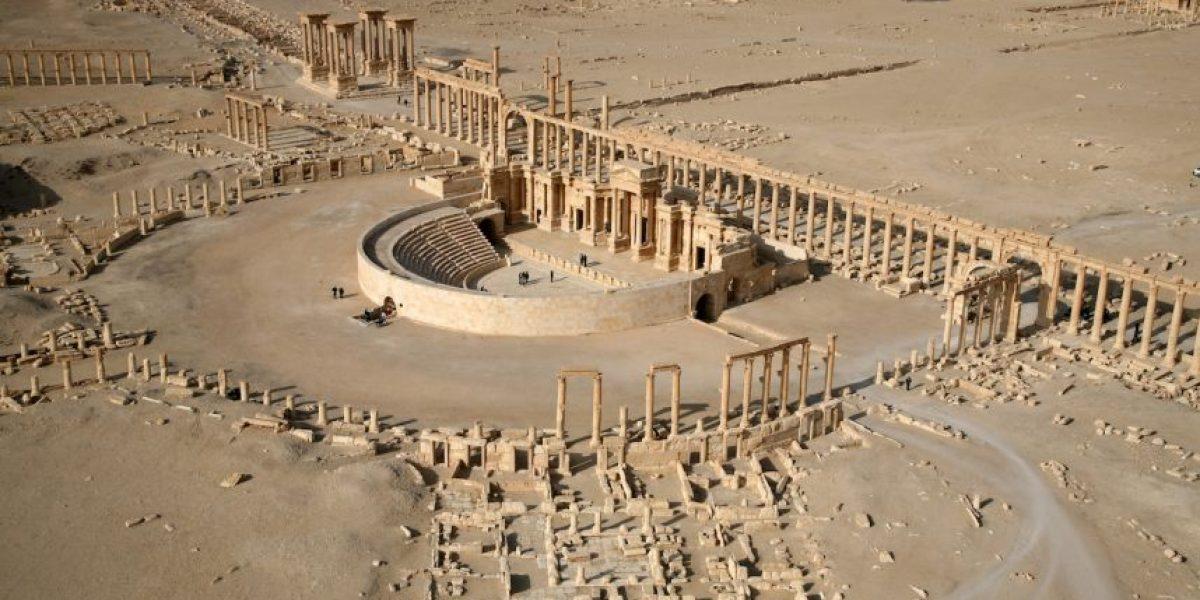 VIDEO: Sigue la amenaza a las ruinas de la histórica ciudad de Palmira