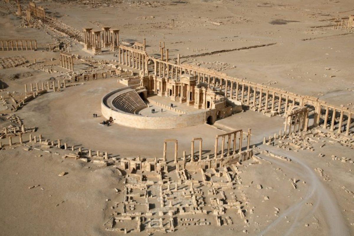 El Estado Islámico muestra en un video que no ha hecho daño a las ruinas de Palmira. Foto:AFP. Imagen Por: