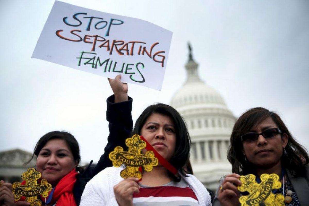 5. La Orden evitaría la deportación de cinco millones de indocumentados. Foto:Getty Images. Imagen Por: