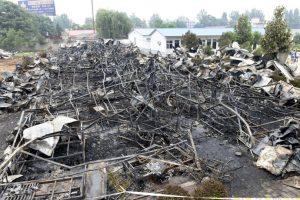 El incendio de un asilo dejó un saldo de 38 muertos. Foto:AP. Imagen Por: