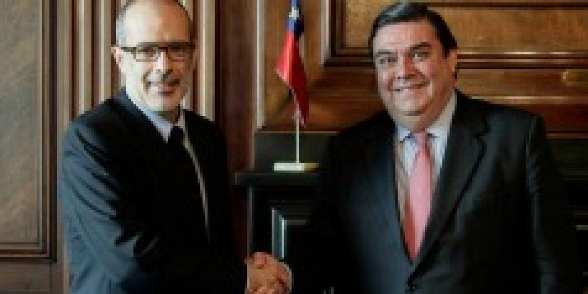 Valdés se reúne con presidente de la CPC y resalta necesidad de