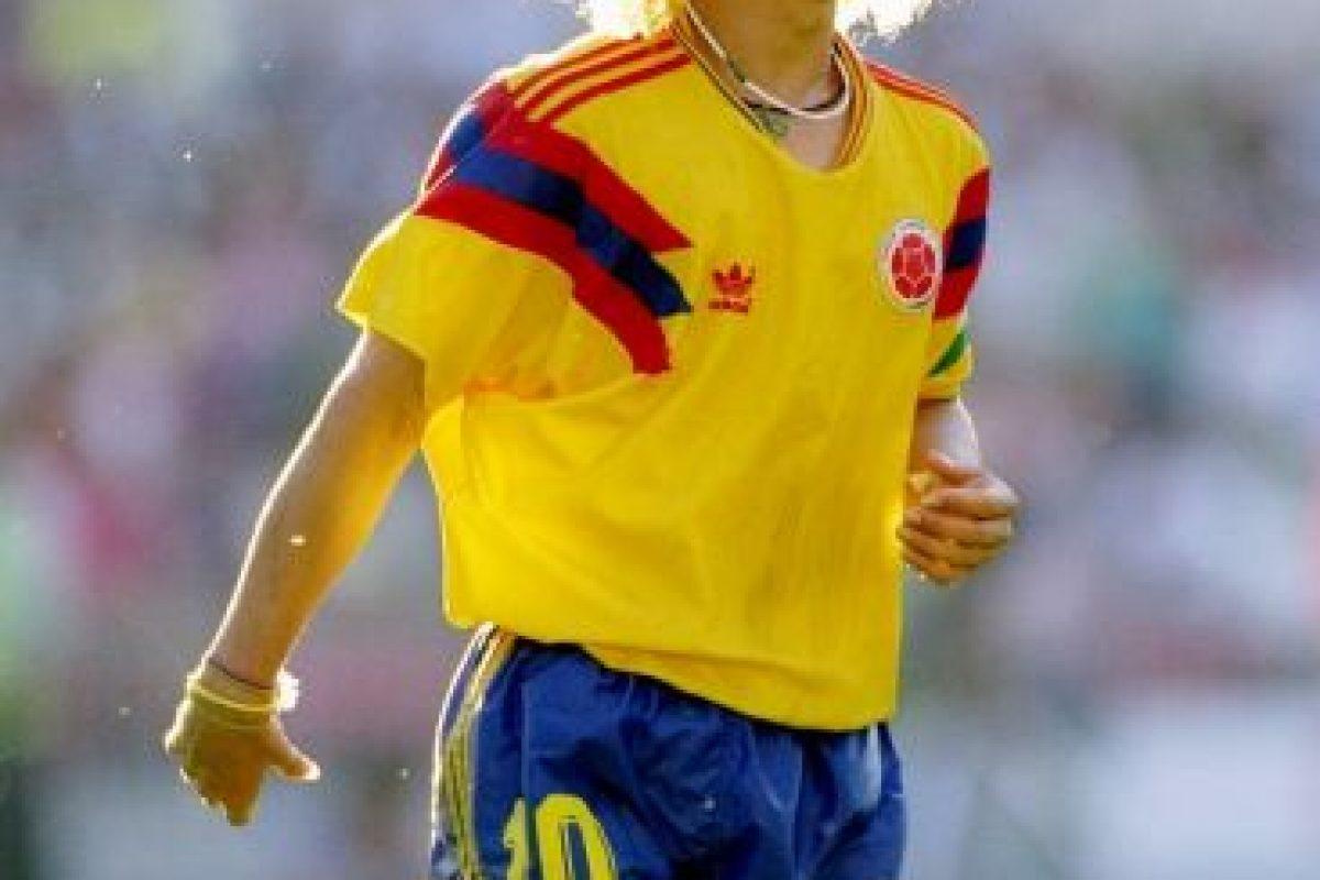 """El """"Pibe"""" jugó cinco ediciones de la Copa América (1987, 1989, 1991, 1993 y 1995) y lo más lejos que llegó junto con su selección, fue el tercer lugar en tres ocasiones. Foto:Getty Images. Imagen Por:"""