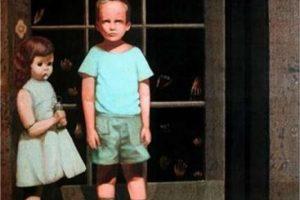 """Hace algunos años un usuario de eBay puso en venta una pintura creada por el artista Bill Stoneham llamada """"Las Manos lo Resisten"""". Dicho cuadro es calificado como el más terrorífico, asegurando que quienes ven en vivo la imagen, sufren bastante temor. Foto:Reproducción. Imagen Por:"""