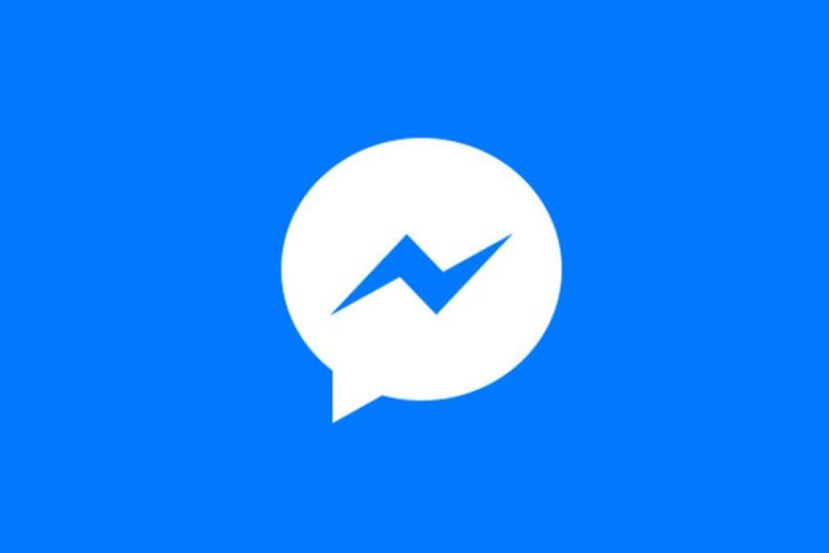 Messenger de Facebook Foto:Facebook. Imagen Por: