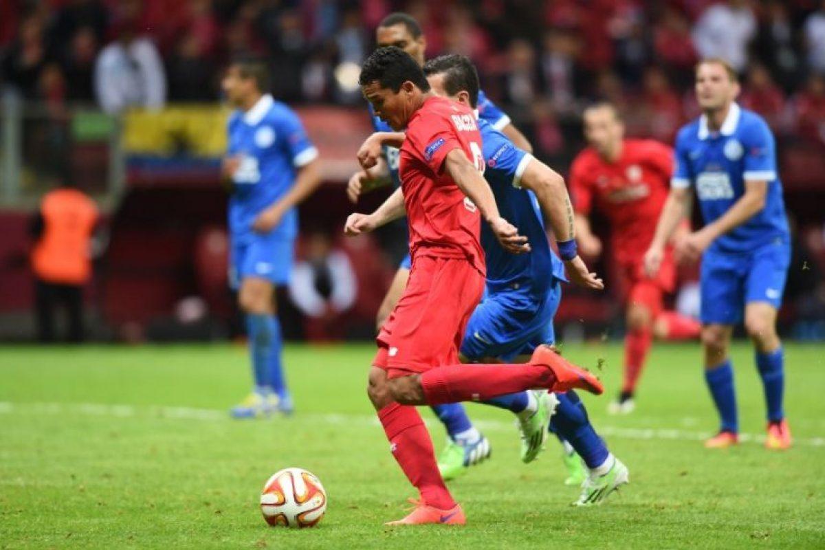 Solo debajo del brasileño Alán y el belga Romelu Lukaku. Foto:AFP. Imagen Por:
