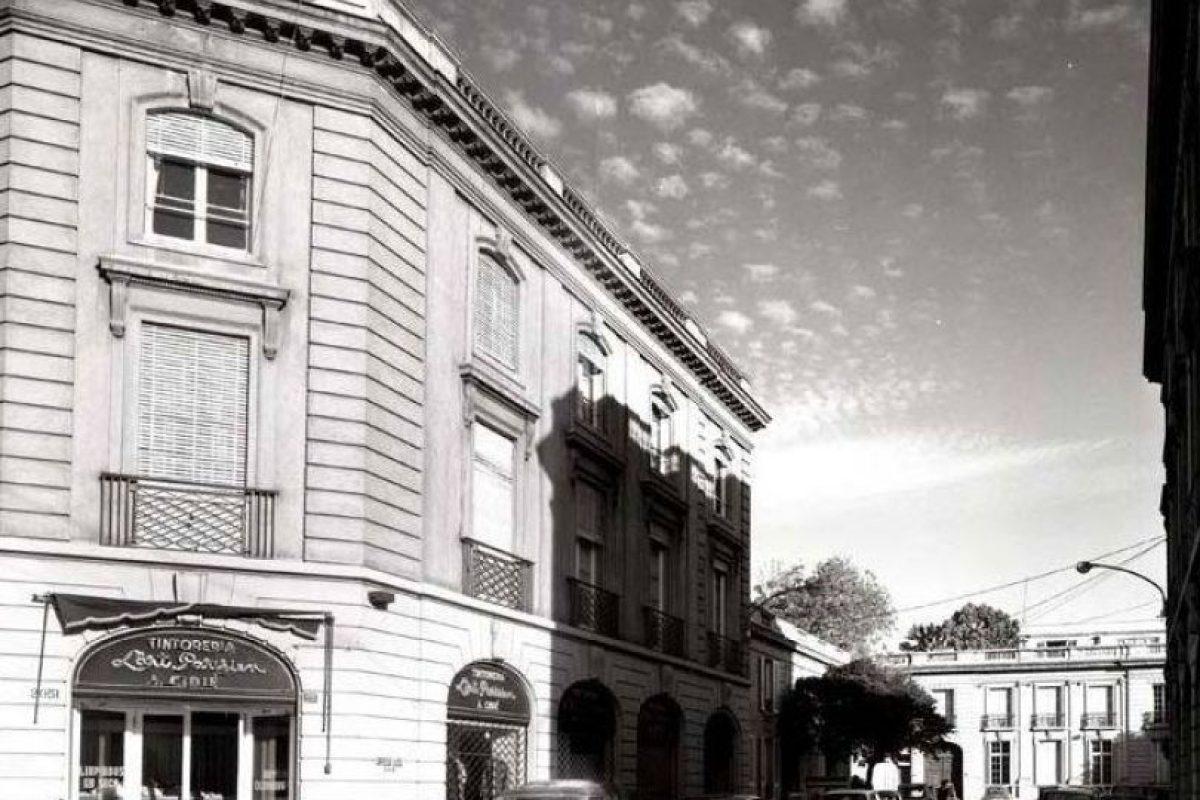 Pasaje Orrego Luco, comuna de Providencia. Santiago en 1969. Foto:Fotos Históricas de Chile. Imagen Por:
