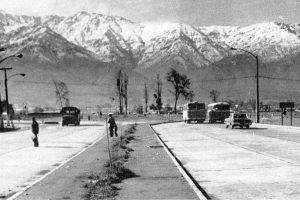 Vista de avenida Grecia llegando a la rotonda Grecia hacia el oriente de Santiago en 1979. Foto:Fotos Históricas de Chile. Imagen Por: