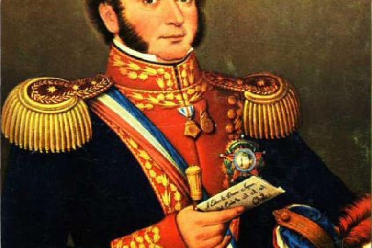 Nació en Chillán el 20 de agosto de 1778 Foto:Reproducción. Imagen Por: