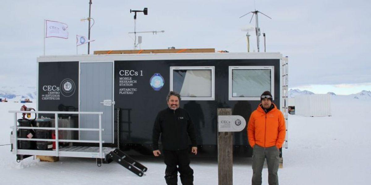 Científicos de Valdivia descubren lago subglacial en la Antártica chilena