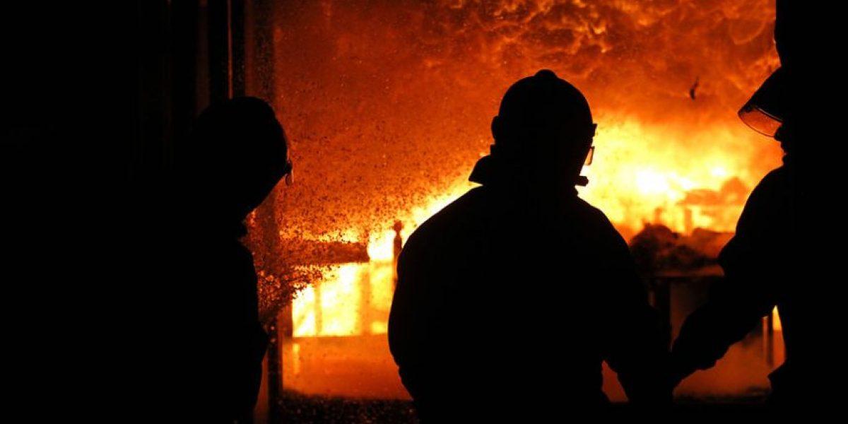 Estas impresionantes imágenes dejó el incendio en Bellavista