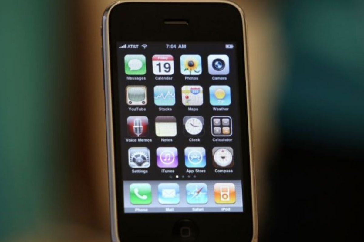 iPhone 3GS (2009) Foto: Getty Images. Imagen Por: