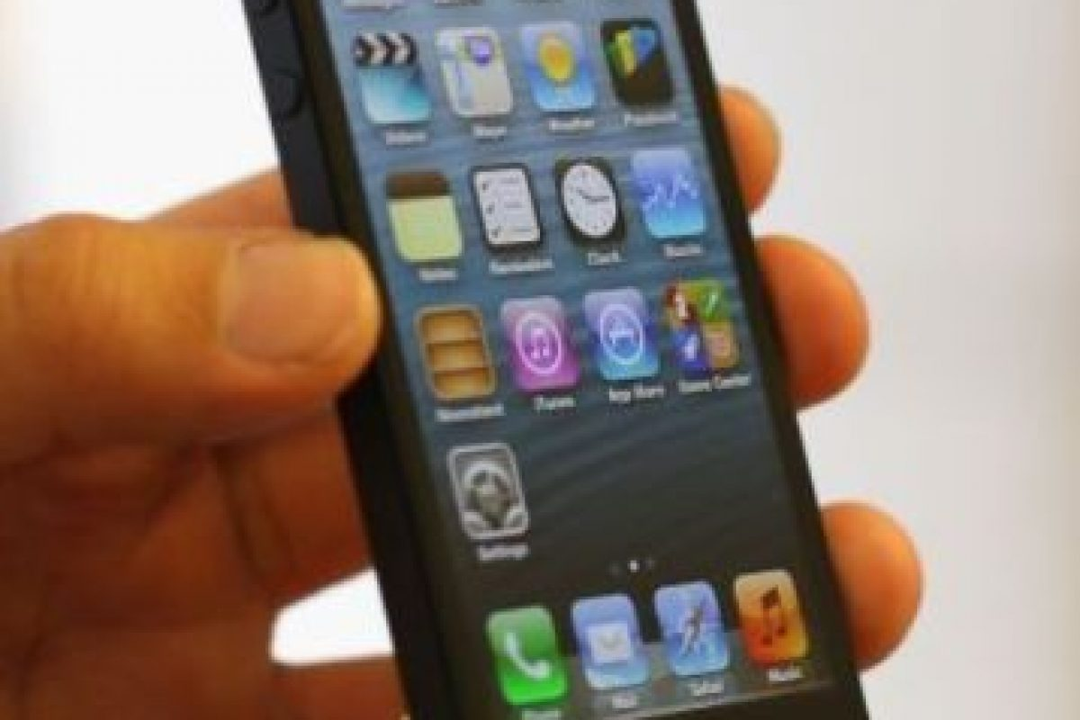 iPhone 5 (2012) Foto: Getty Images. Imagen Por: