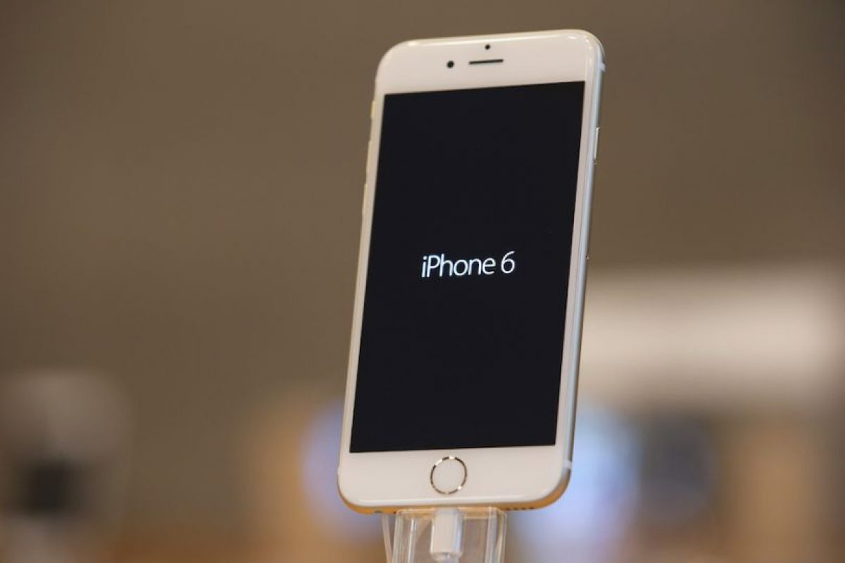iPhone 6 (2014) Foto: Getty Images. Imagen Por: