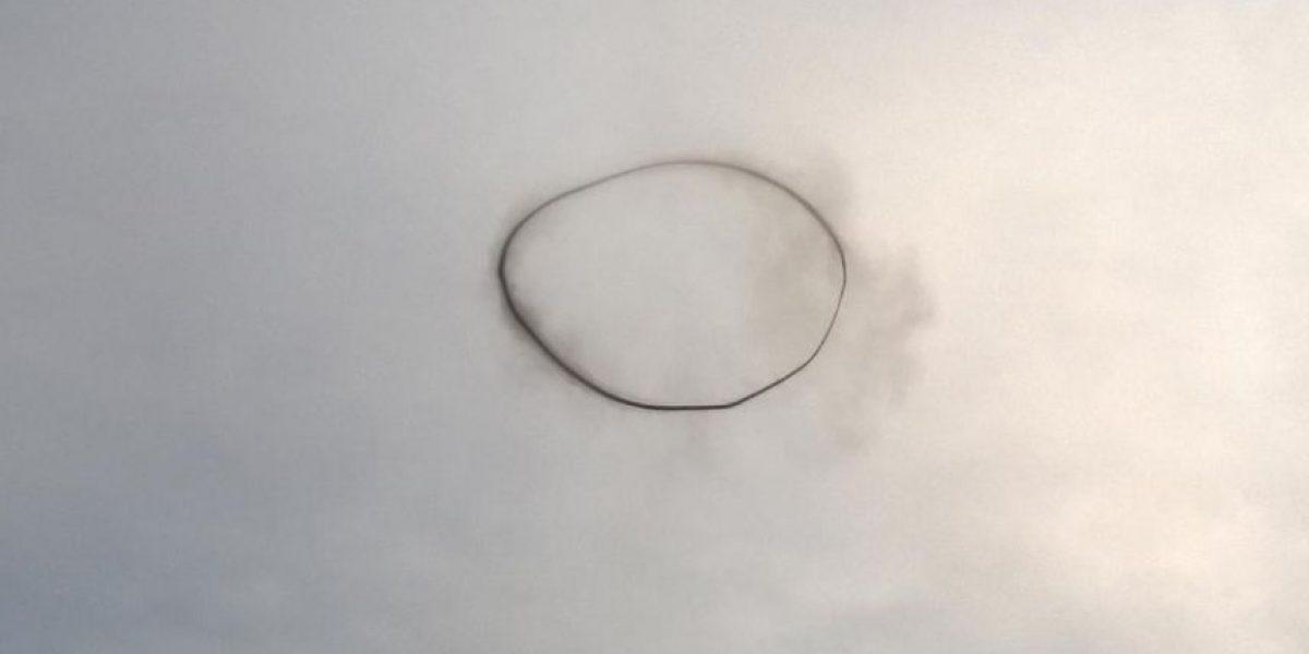 Revelan a qué se debió el impresionante anillo de humo en Argentina