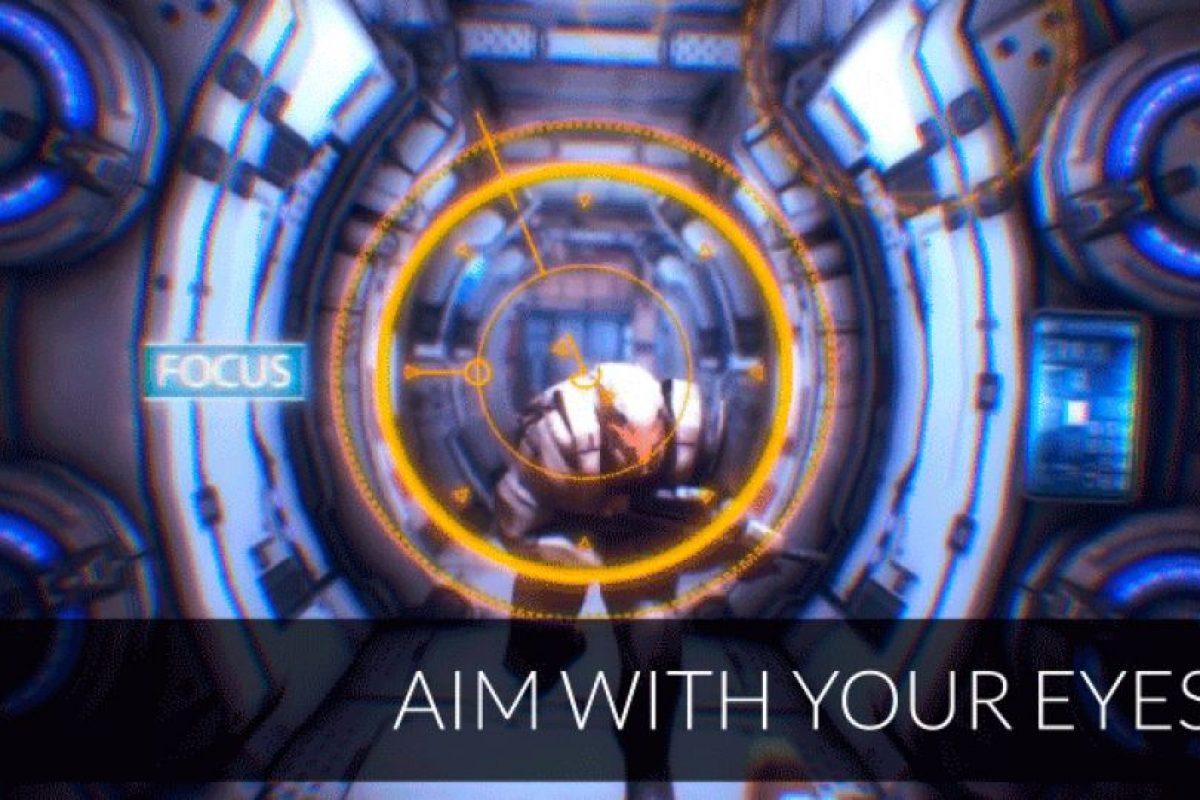 Como seleccionar el un blanco de disparo Foto:FOVE / Kickstarter. Imagen Por: