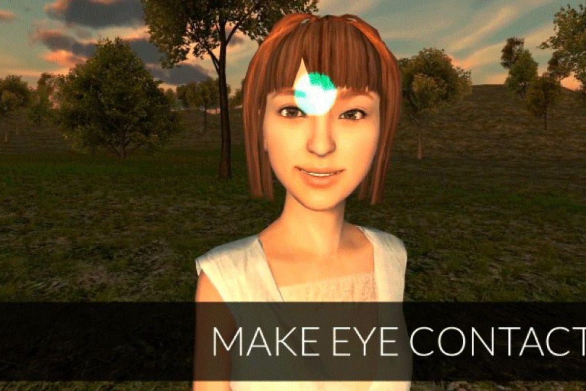 O hacer contacto con los personajes virtuales Foto:FOVE / Kickstarter. Imagen Por:
