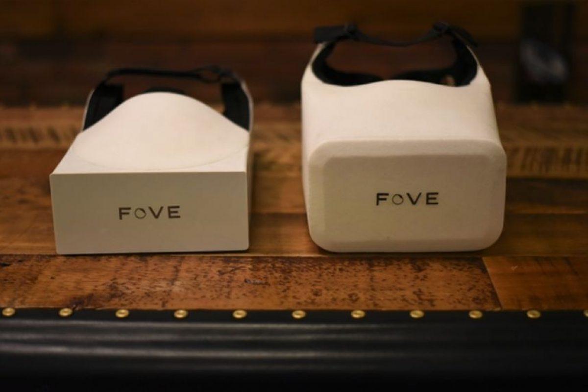Estos son los primeros prototipos de FOVE Foto:FOVE / Kickstarter. Imagen Por:
