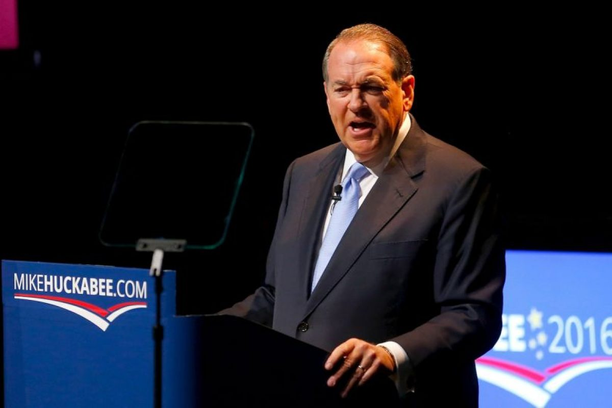 Mike Huckabee Foto: Getty Images. Imagen Por: