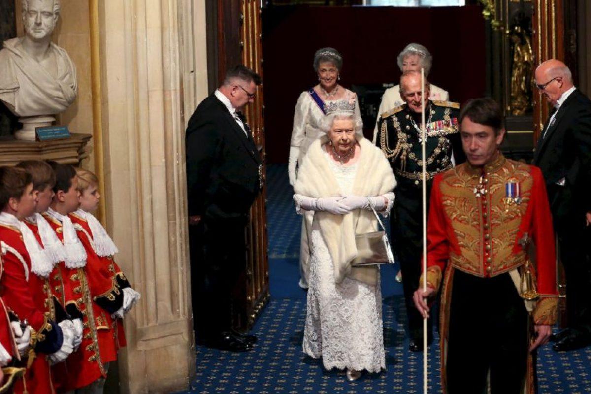 5. Una carroza tirada por caballos la llevó a al palacio de Westminster. Foto:Getty Images. Imagen Por: