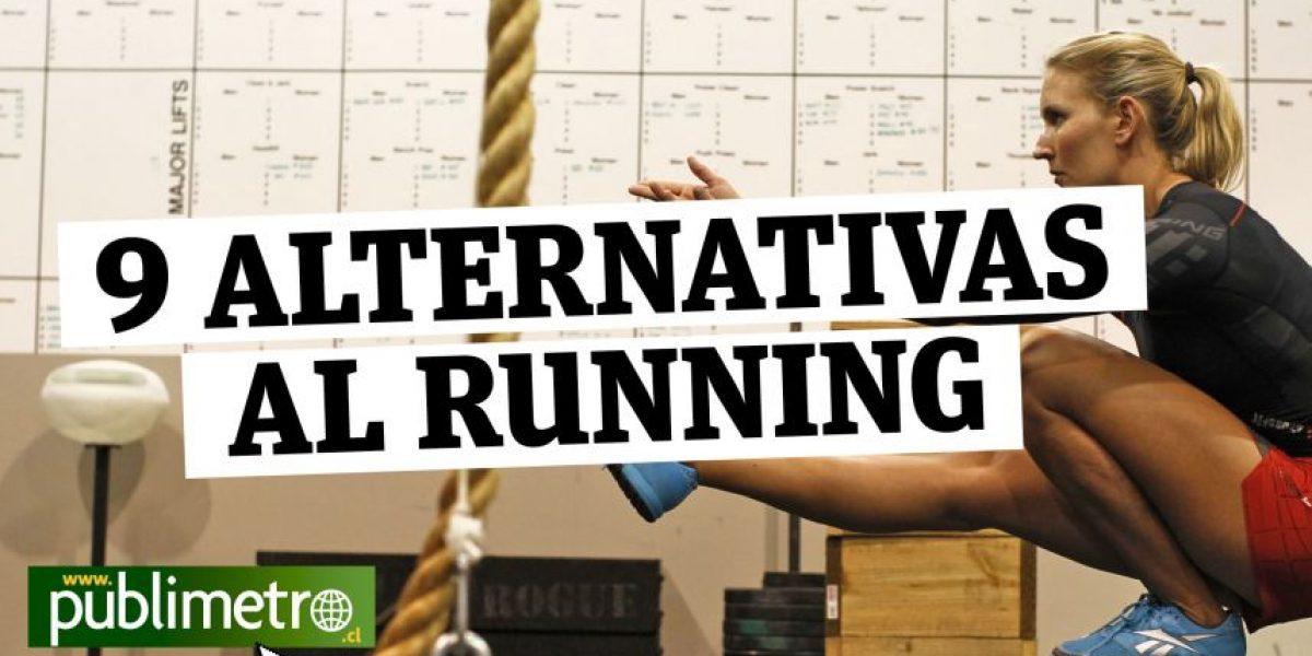 Infografía: 9 alternativas al running