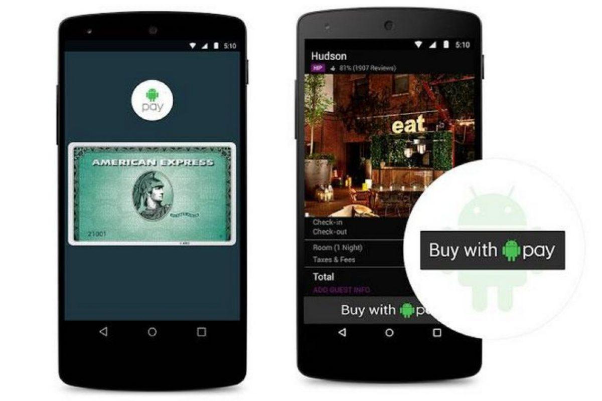 Es el sistema de pagos móviles de Google que incorpora el escáner de huellas dactilares y utilizará la tecnología NFC y Host Card Emulation. Disponible por el momento solo en Estados Unidos. Foto:Google. Imagen Por: