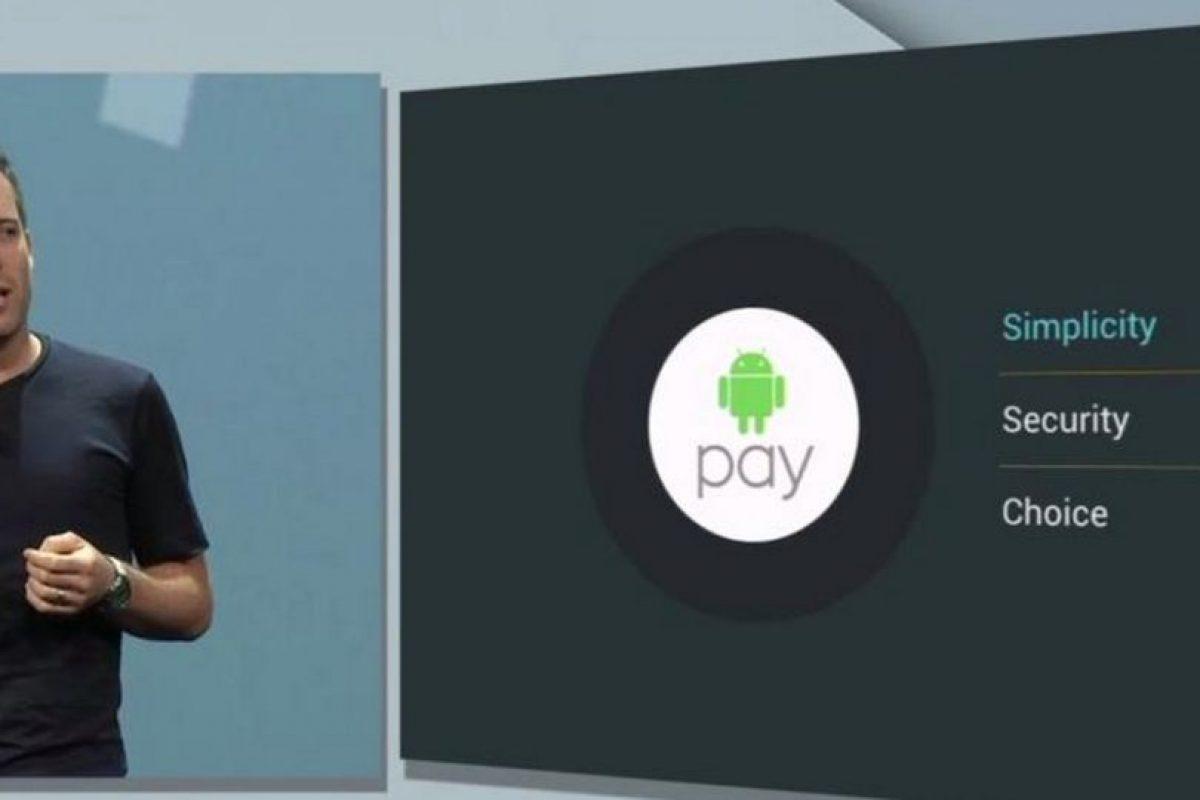 5) Android Pay Foto:Google. Imagen Por: