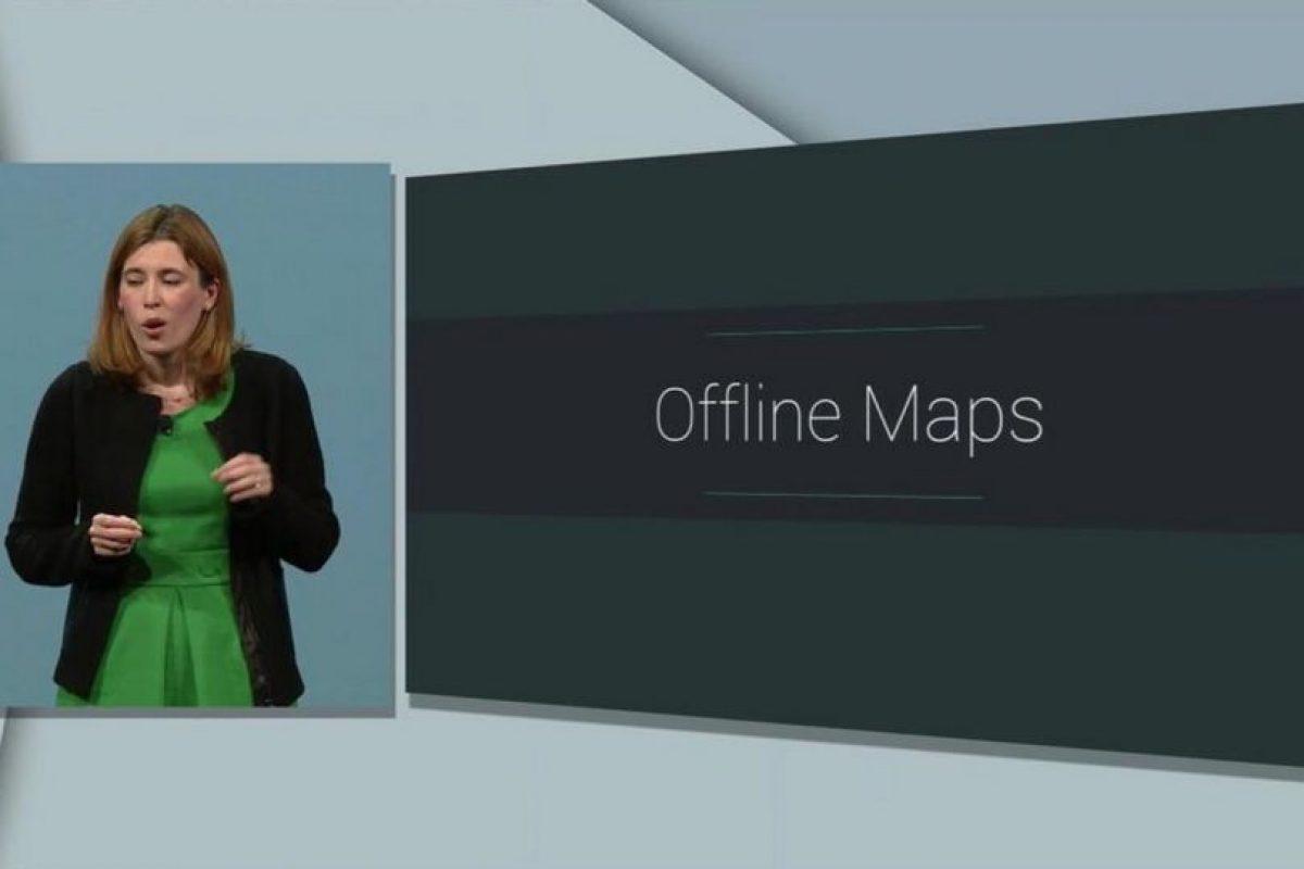 6) Google Maps sin Internet Foto:Google. Imagen Por: