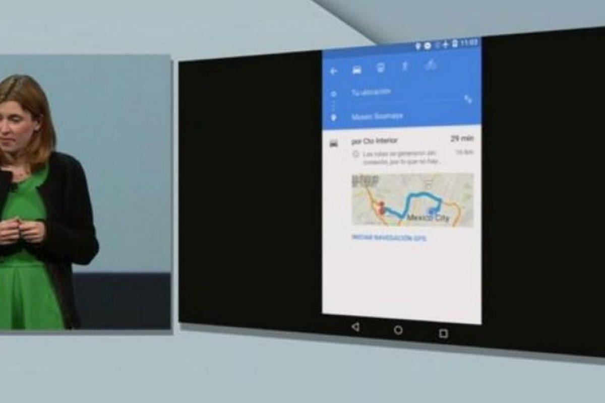 Para que nunca se pierdan, los mapas ahora estarán disponibles sin conexión a la red, también pueden buscar direcciones por voz y escuchar su ruta. Foto:Google. Imagen Por: