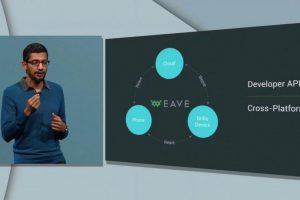 Este software ayudará a que se conecten productos como cerraduras, refrigeradores, sistemas para controlar el clima, etc. (Internet de las cosas) mediante Wave, el cual se lanzará a finales de este año, meses después de Brillo. Foto:Google. Imagen Por: