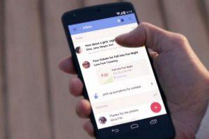 Es el cliente de correo de Google en el que pueden almacenar varias cuentas y desde ahora cualquier persona lo puede descargar sin necesidad de una invitación. Foto:Google. Imagen Por:
