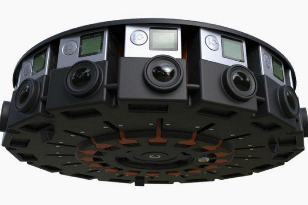 Google y GoPro se asociaron para grabar realidad virtual con 16 cámaras y el video se podrá reproducir en YouTube. Foto:Google. Imagen Por: