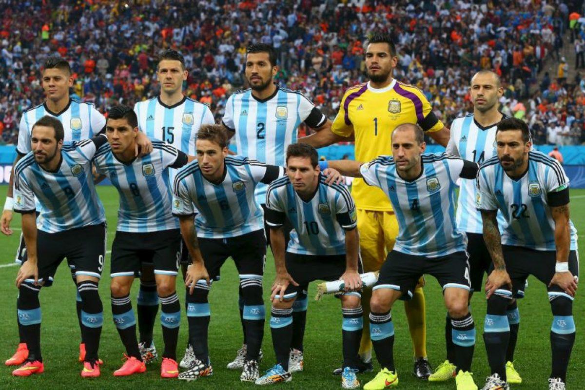 Ellos son los 23 futbolistas que jugarán la Copa América con Argentina. Foto:Getty Images. Imagen Por: