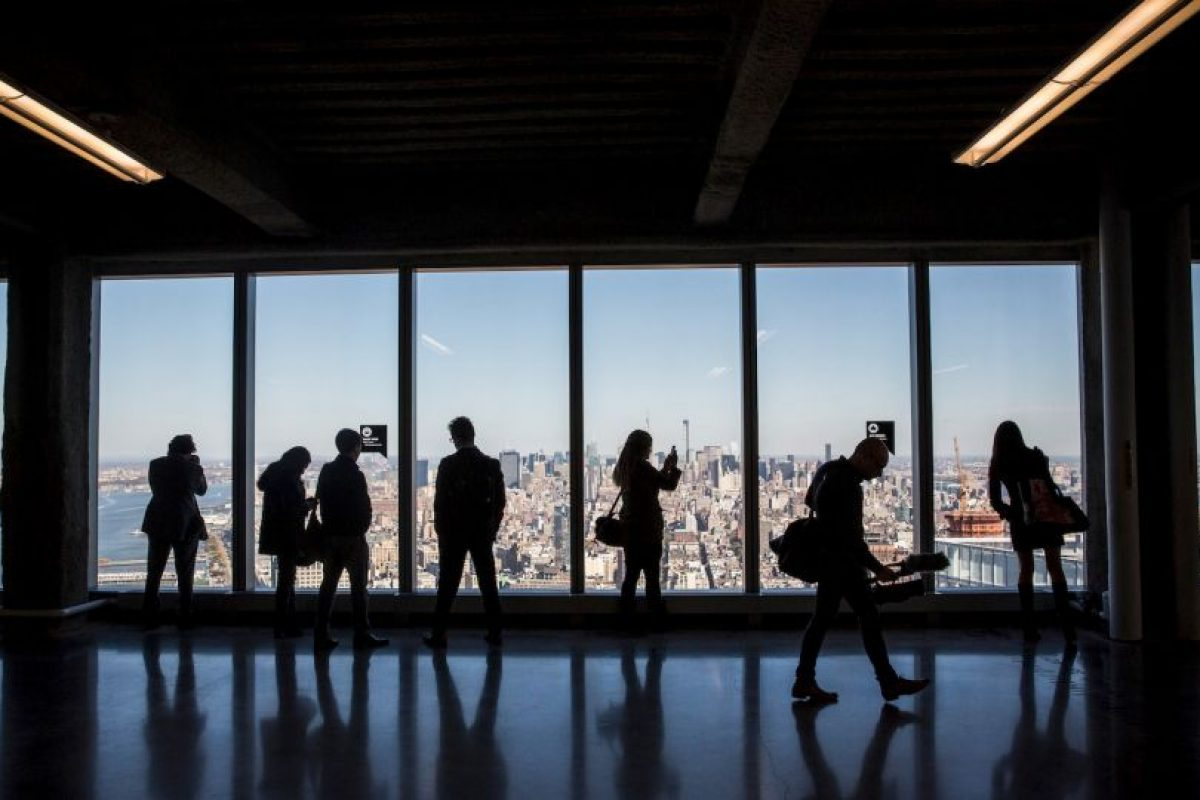 Los visitantes de la cima del edificio también tendrán un espectáculo virtual. Foto:Getty Images. Imagen Por: