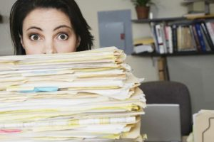 1. Cuando tienen una carga excesiva de trabajo Foto:Pinterest. Imagen Por: