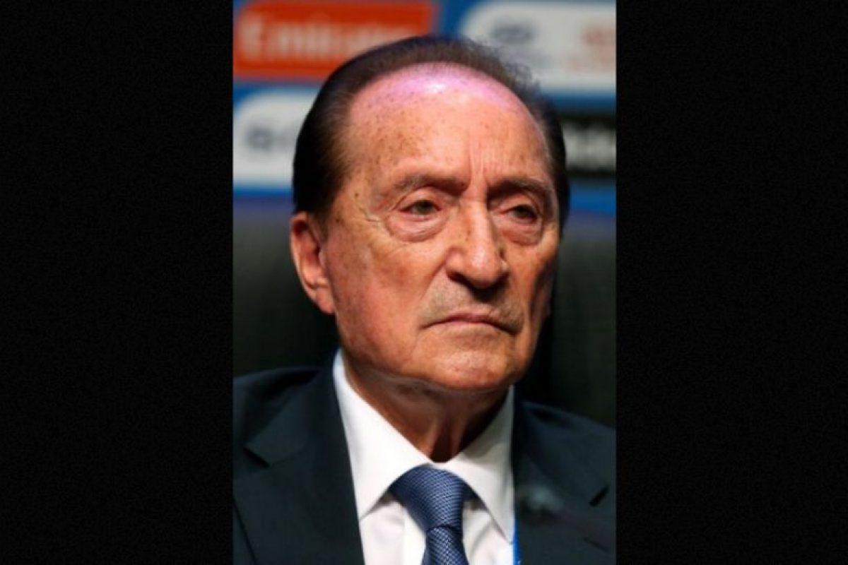 Eugenio Figueredo, actual vicepresidente de la FIFA y miembro del Comité Ejecutivo. Foto:Getty Images. Imagen Por: