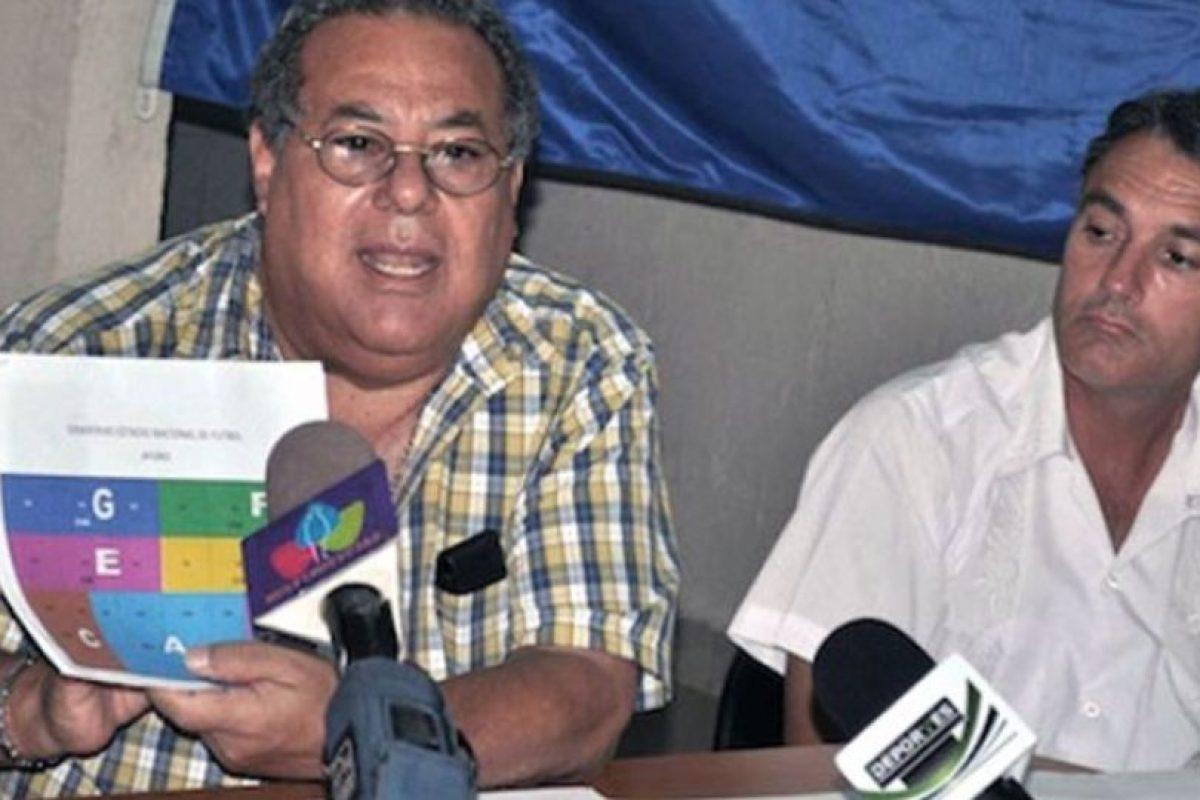 Julio Rocha, actual oficial de desarrollo de la FIFA. Foto:Getty Images. Imagen Por: