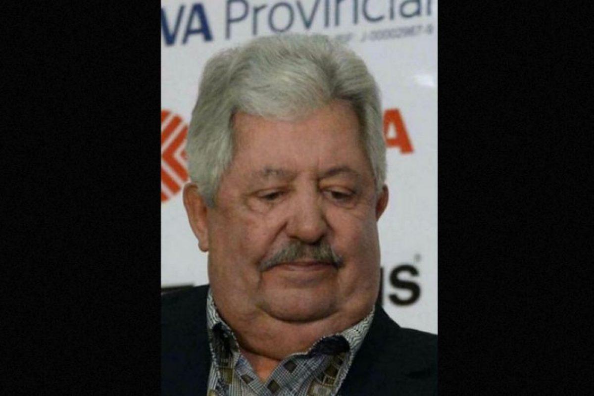 Rafael Esquivel, presidente de la Federación Venezolana de Fútbol. Foto:Getty Images. Imagen Por: